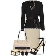 Classy Outfits | Ebony, Ivory | Fashionista Trends