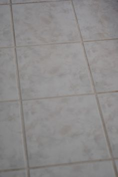 {Practically Free} Homemade Grout Cleaner