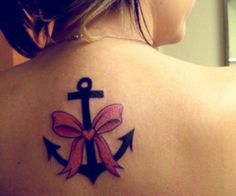 anchor tattoo, Perfect for @Heather Goober