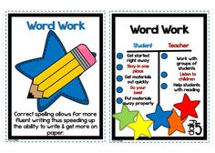 Lory's Page word work