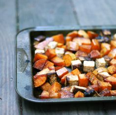 Mix it Up: Roasted Balsamic Sweet Potatoes and Tofu