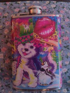Lisa Frank flask.. must have