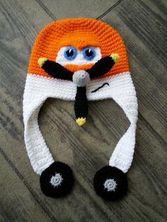 Ravelry: Cropduster pattern by JoAnne Grimm Thompson planes crochet hat, dusty crochet hat