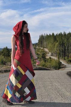 Custom Harvest Patchwork Skirt