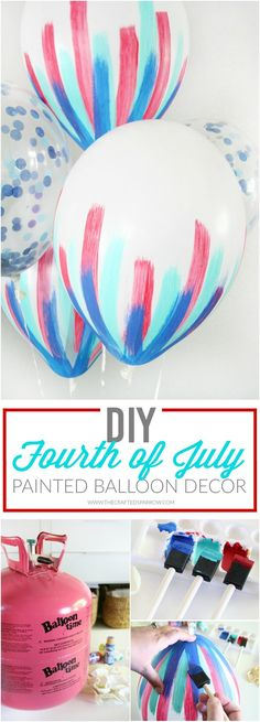 DIY 4th of July Ball