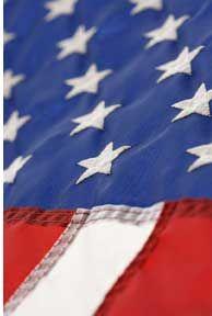 Webelos Citizen badge - flag etiquette quiz