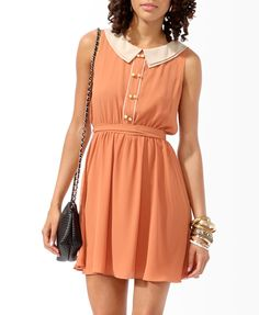 Tiered Collar Dress | FOREVER21 - 2000049469