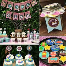 camp birthday party theme - Google Search
