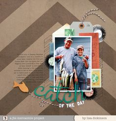 Mercantile July Papercrafting kits - by Lisa Dickinson - love that title!