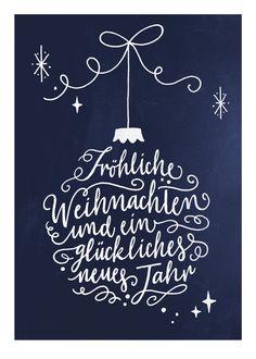 """Weihnachtskarten - Weihnachtskarte """"Weihnachtsgru??"""" - ein Designerst??ck von Frau-Annika bei DaWanda"""