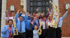 LeTourneau University's Sting Precision Flight Team takes 1st place in NIFA regional competition.