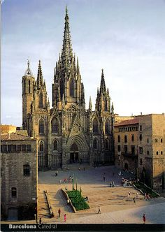SPAIN (Catalonia) - Barcelona Cathedral, Saint Eulàlia and the 13 geese