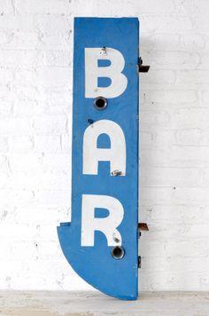 Bar Sign | Patina