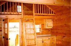 Amish Country Cabins - LOFT porch :-)