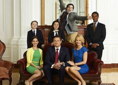 """Check out 1600 PENN (NBC): Whether it's entertaining foreign dignitaries, sneaking away for a night out, dealing with middle school crushes or putting out fires – figuratively and sometimes literally – there's never a dull moment in the Gilchrist White House.""""Modern Family"""" meets """"The West Wing"""" in this election-year comedy from Emmy-winning executive producer/director Jason Winer (""""Modern Family""""). The executive producers are Winer, Gad and Jon Lovett (former White House speechwriter)."""