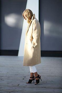 Loving this menswear inspired look