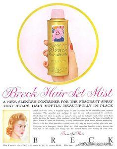Breck Hair Set Mist.