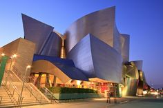 The Walt Disney Concert Hall in downtown Los Angeles