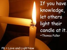 Share the light!