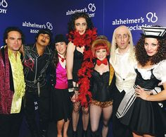 The cast of The Big Bang Theory at the 2013 A Night at Sardi's Gala benefiting the Alzheimer's Association. They performed The Time Warp from The Rocky Horror Picture Show. Look. At. Sheldon.