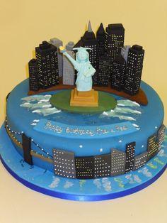 The Big Apple! #NewYork #Cake