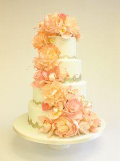 eleg cake, wedding cakes, occas cake, cakey wakey, tier cake, fanci cake, cake art