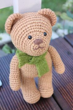 Amigurumi Teddy Bear - Crochet Teddy Bear Pdf Pattern