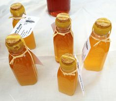 Michigan City Indiana farmers market local honey via Gardenista