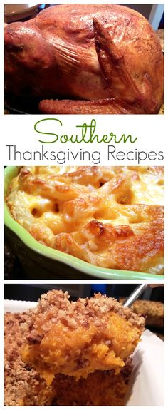 16 scratch-made Thanksgiving recipes including Jive Turkey, Cola-Cola Glazed Ham, Baked Macaroni & Cheese, Mama's Cornbread Dressing, Southern Style Green Beans, Sweet Potato Praline Casserole, Zucchini Pie, Squash Casserole, Collard Greens, Holiday Cranberry Salad, Chocolate Delight, Pecan Pie, Italian Bakeless Cake, Sour Cream & Raisin Pie and Pumpkin Spice Cheesecake Delight.