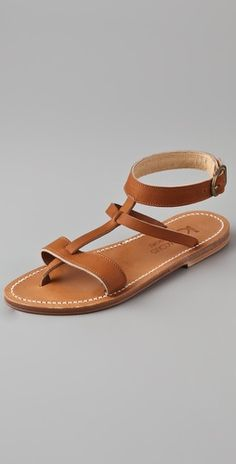 k. jacques. strappy sandals.