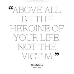 Not the victim