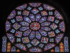 Chartres Cathedral.