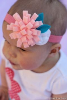 all crafts 15 Adorable Kids Hair Bows To Make