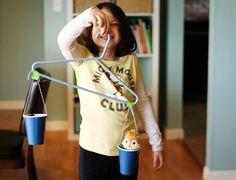 fun activ, kids learning, educ fun, balanc, clothes hangers