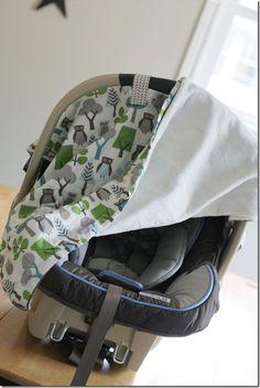Car Seat Blanket Tutorial  - Carseat Blanket 048 Edit