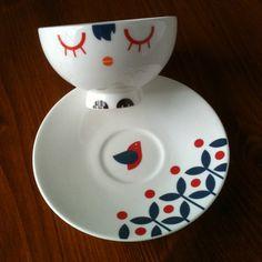 Camila Prada — Birdie Teacup