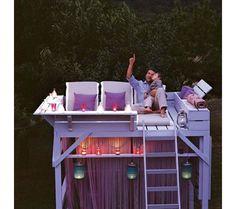backyard observation deck