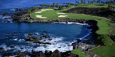 Mauna Lani Resort: View of South Course golf green