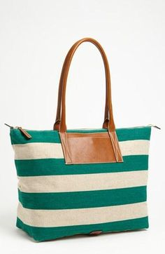 Go nautical with this Stripe Tote by Nordstrom.