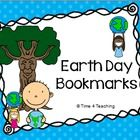 This download contains 4 bookmarks, each with a different earth day pledge.  Students can choose a bookmark with the pledge they would like to make...