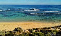 travel blog photo - Yallingup Beach, Wetsern Australia
