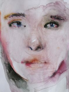 "Saatchi Online Artist Aga Maria Masternak; Painting, ""aries face 20"""