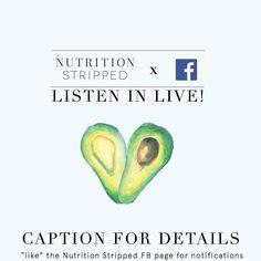 FB live! TOMORROW 10