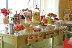 idea, sharpie mugs, lolly buffet, food, candies, san francisco, candi shop, parti, candi bar