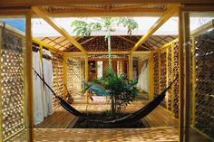bamboo structure & infill
