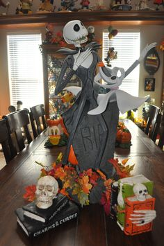 Disney Halloween Decorations - Nightmare Before Christmas www.mydisneylove.com