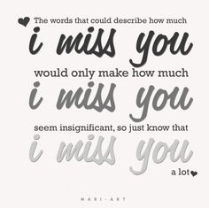 For those who have lost someone....