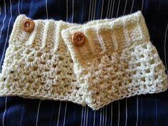 Crochet from J: Boot Cuffs Pattern