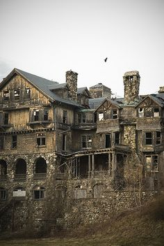 Nobody goes there anymore. #ruins #abandoned #goth #fantasy
