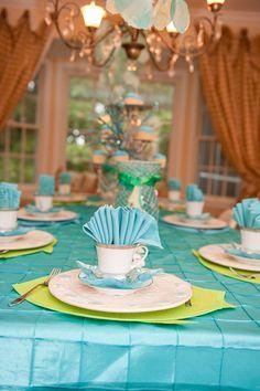 Mermaid Tea Party